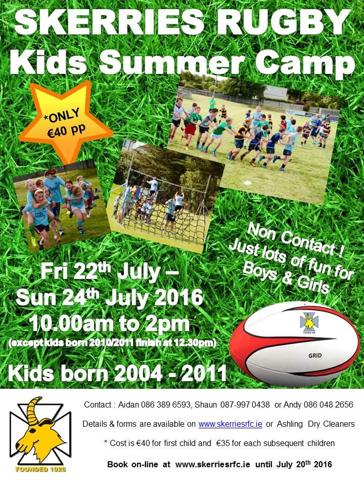 SRFC 2016 Summer Camp New Poster