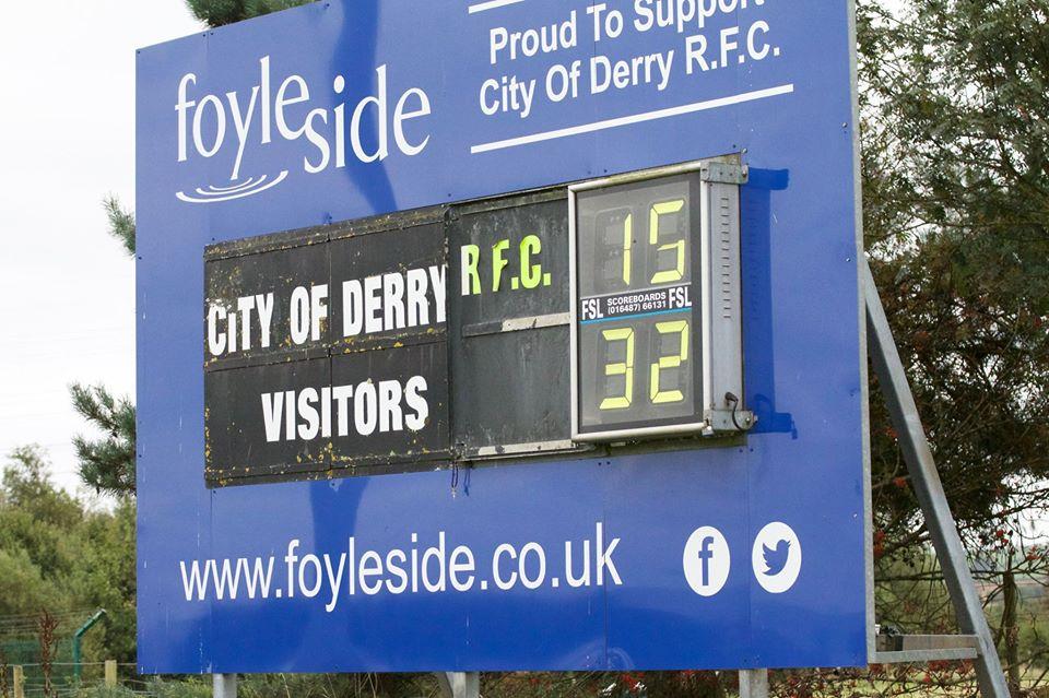 Derry-Scoreboard