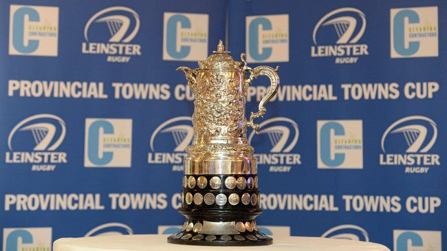 14 December 2013; A detailed view of the Towns Cup at the 89th Provincial Towns Cup draw sponsored by Cleaning Contractors. Ballsbridge Hotel, Dublin. Picture credit: Stephen McCarthy / SPORTSFILE