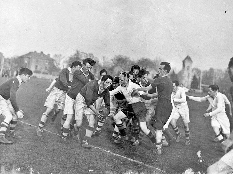 Skerries RFC Bobby Beggs year