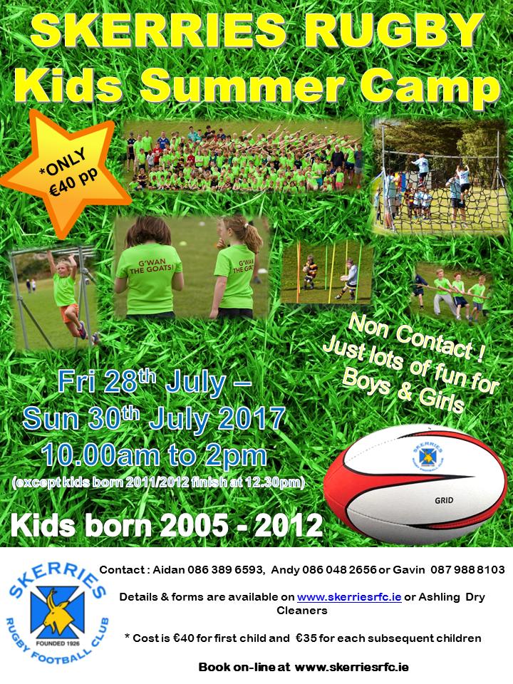SRFC 2017 Summer Camp Poster