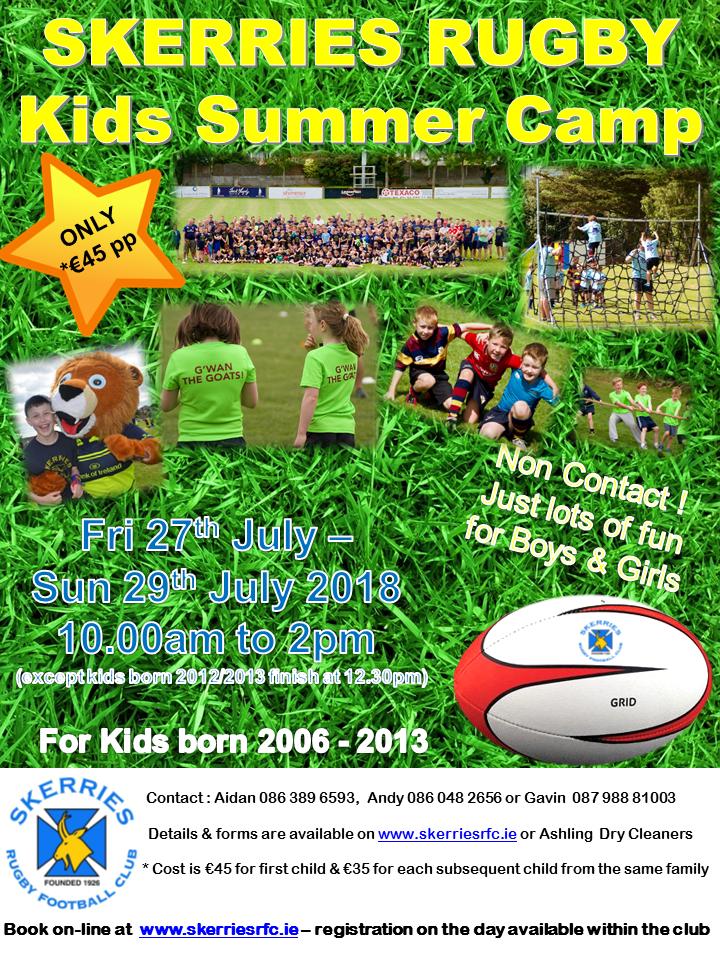2018Summer Camp Poster