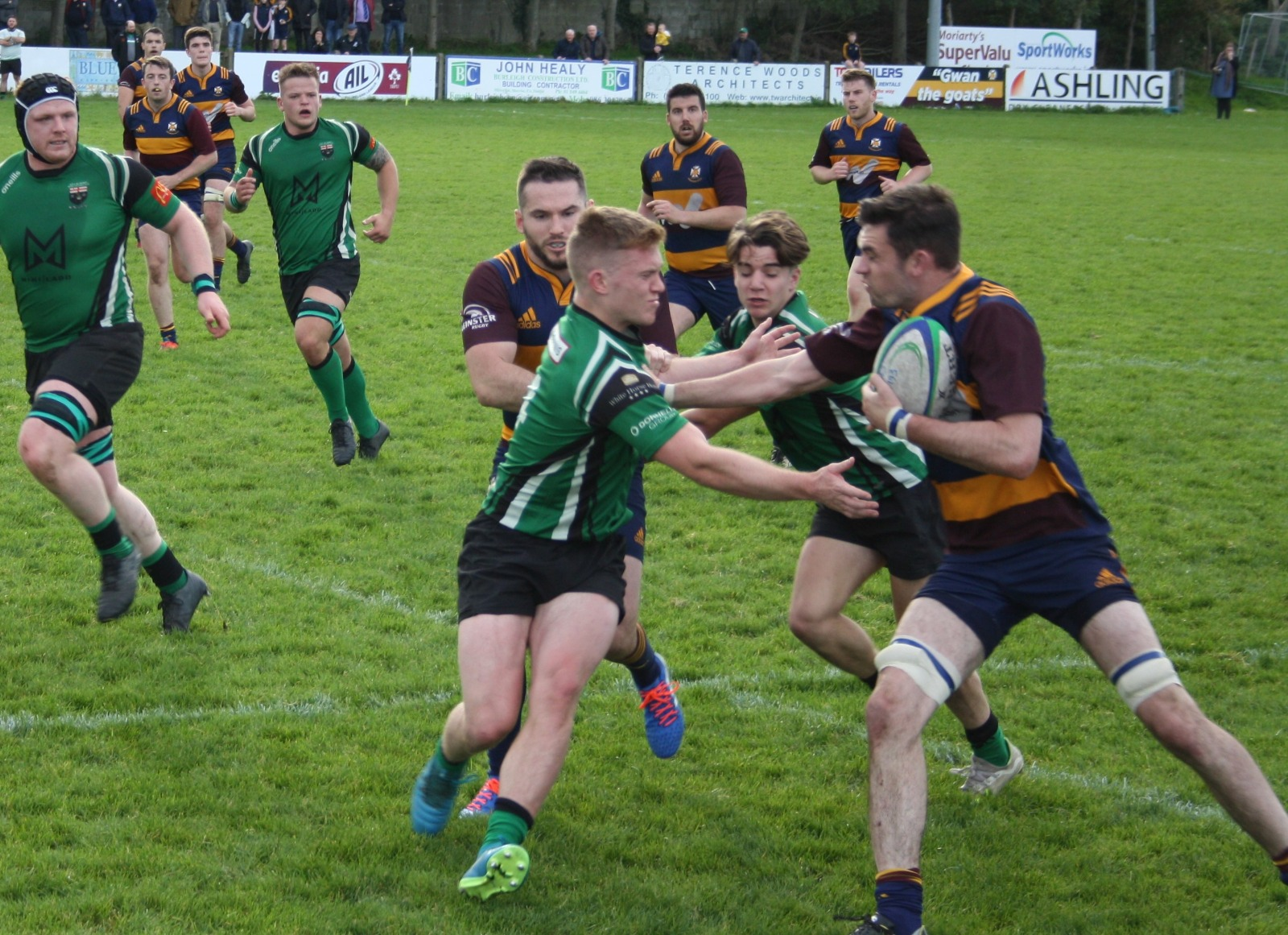 Tullamore v Skerries Match Report Energia AIL Div 2C